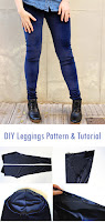 DIY Leggings Pattern & Tuorial