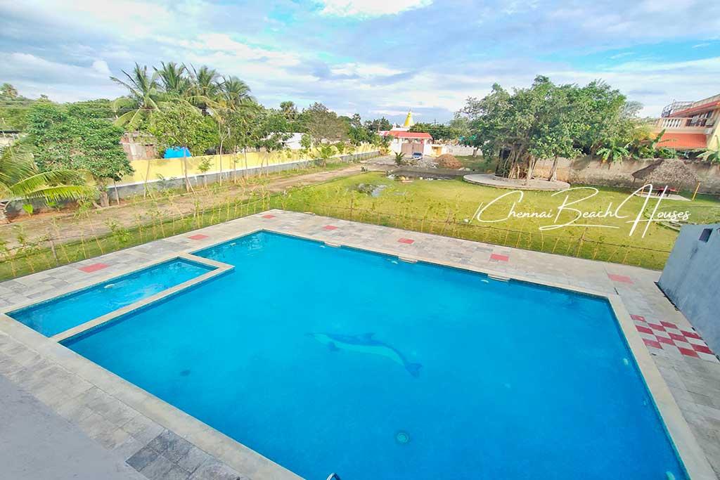shore temple beach house swimming pool