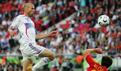 زيدان ضد اسبانيا كاس العالم 2006
