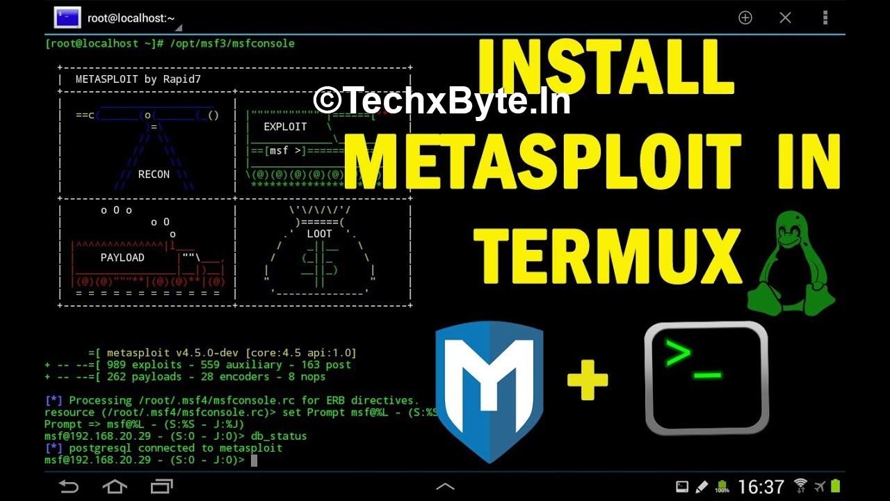 Hack Any Android Using Metasploit Termux Hack – Dibujos Para Colorear