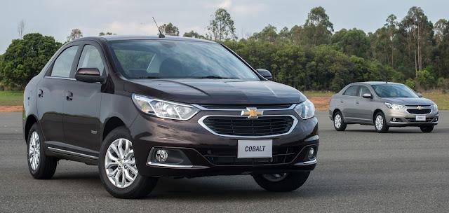 Chevrolet lança Cobalt 2016, reestilizado e com novos itens