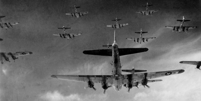 USAAF B-17 bombers during Operation Pointblank, worldwartwo.filminspector.com