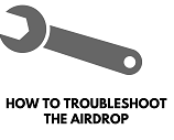 Troubleshoot the airdorp on iPhone