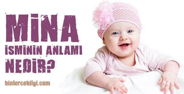 Mina ne demek? Mina isminin anlamı nedir? Mina adı kuranda geçiyor mu? Mina ismi hakkında kısa bilgiler. Mina isminin anlamı hakkında merak edilenler..