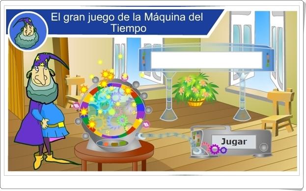 """""""El gran juego de la máquina del tiempo""""  (5º y 6º de Primaria)"""