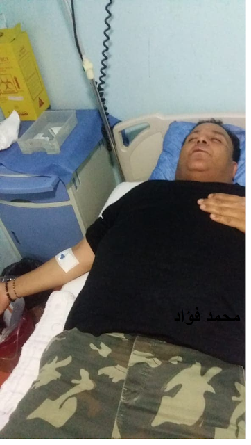 محمد فؤاد في المستشفي