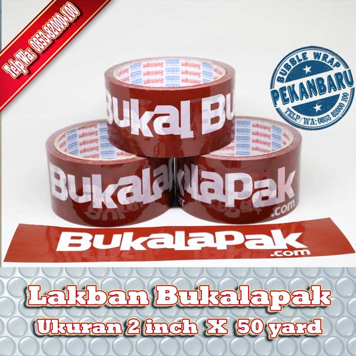 lakban Bukalapak di Pekanbaru, jual lakban Bukalapak di pekanbaru, lakban Bukalapak murah di pekanbaru