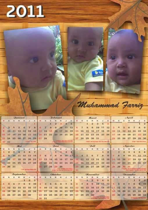 Desain kalender satuan cetak kalender online satuan