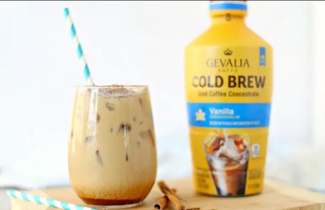 Cinnamon Vanilla Latte #drinks #latte