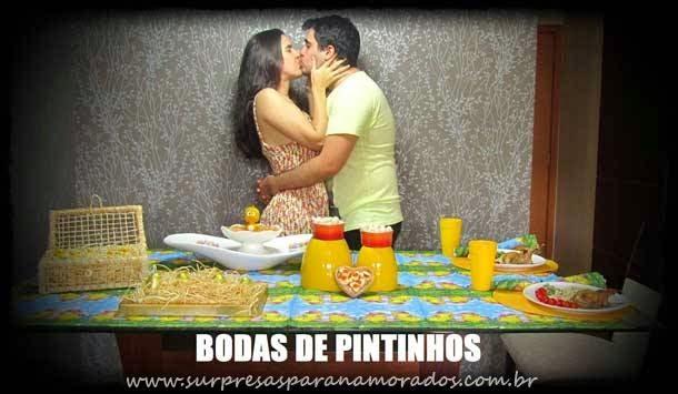 Dicas Para Bodas De Namoro: Bodas De Pintinhos - 10 Meses De Namoro