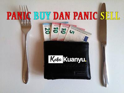 Penyebab panic buy dan panic sell beserta penyebab dan cara mengatasinya