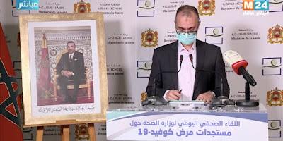 Maroc/Covid19- 20 Avril 2020- Bilan de 3046 cas contaminés et des unités industrielles en nouveaux foyers de contamination  Le taux de mortalité a baissé grâce aux dépistages précoces