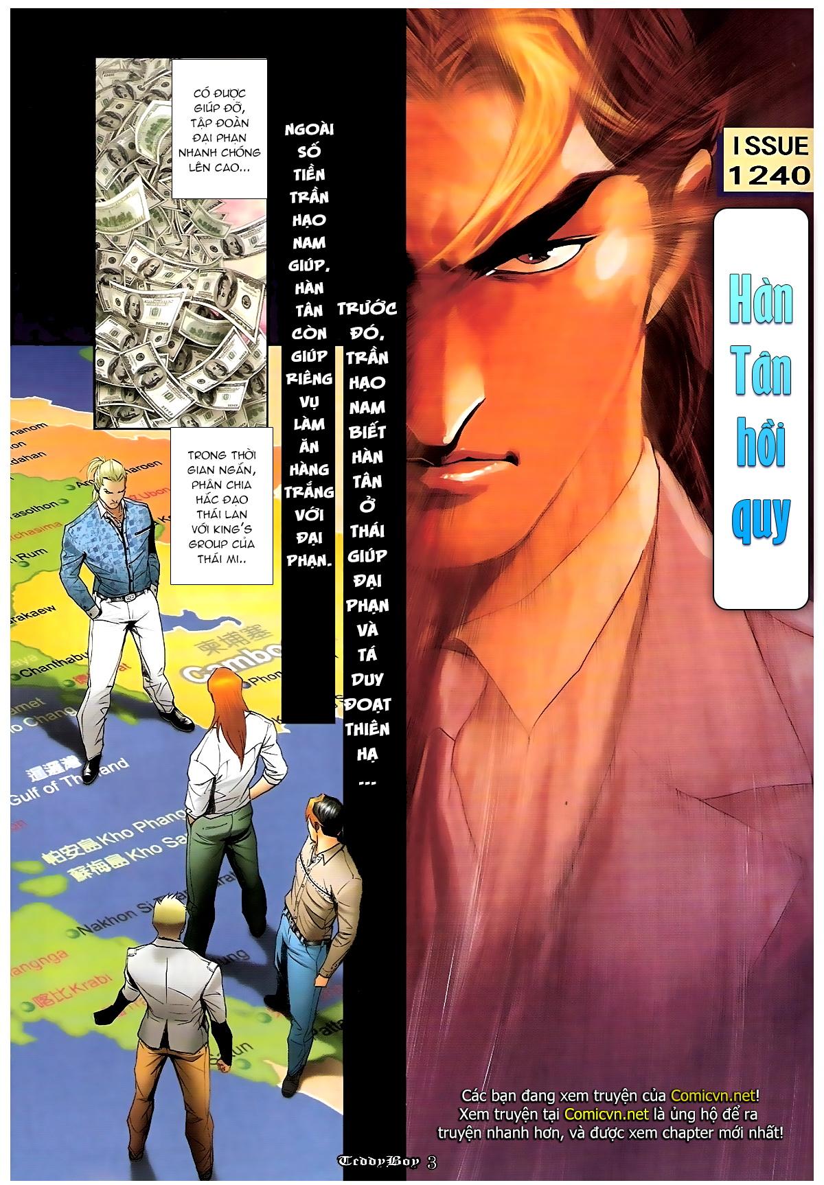 Người Trong Giang Hồ - Chapter 1240: Hàn Tân trở về - Pic 2