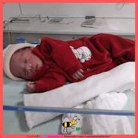 Miguel no dia do nascimento
