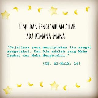 motivasi islam Allah ada di langit