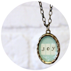 One Little Word Necklace