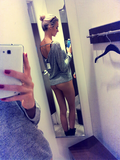 changing room selfies