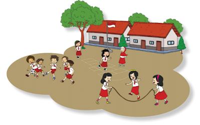 gambar cara mengisi waktu luang di lingkungan sekolah yang sehat www.simplenews.me