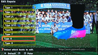 Download Textures Boot for PES PSP Android