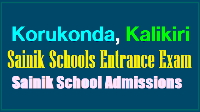 Navodaya and sainik schools
