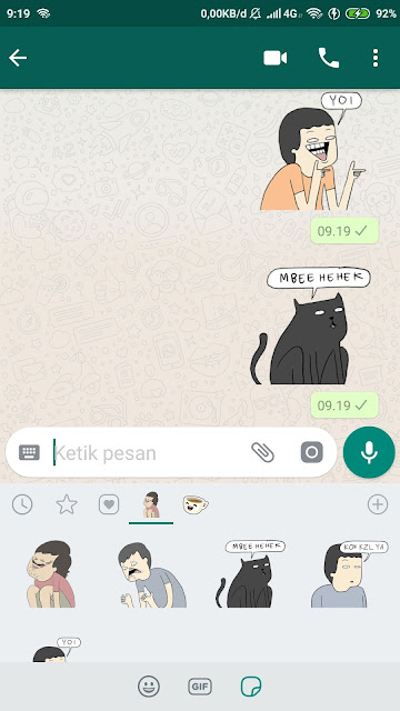 Cara Import Gambar Stiker LINE ke WhatsApp