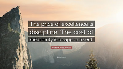 Excellence Mediocrity Quotes