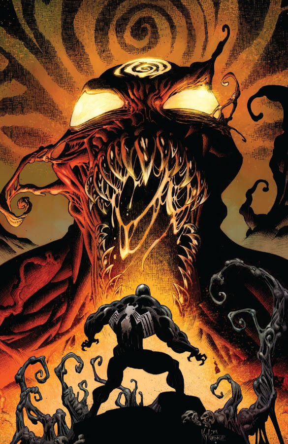 venom vs carnage marvel comics 2020 absolute carnage eddie brock cletus kasady donny cates iban coello kyle hotz