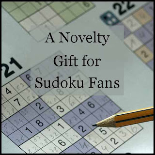 Novelty gift idea for sudoku fan