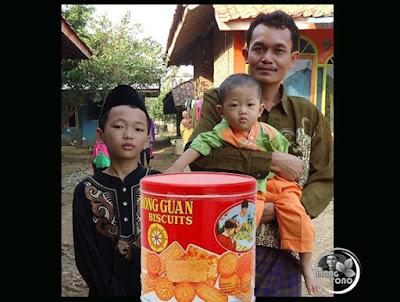 "FOTO : Mang Yono, Si Kaka ""Gugum"", dan si adek ""Gigin"""