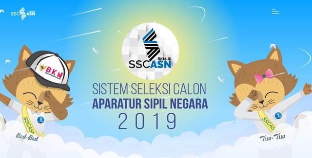CPNS 2019 di Link sscasn.bkn.go.id