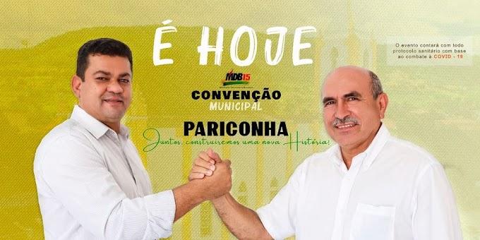 Moacir e Alvoni serão os candidatos do MDB para disputar as eleições em Pariconha