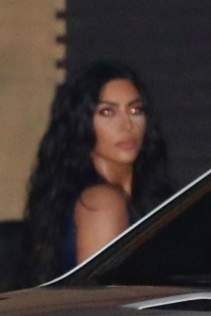 Kim Kardashian Arrives at Nobu in Malibu 17 Dec-2019