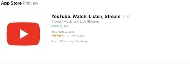 تحميل تطبيق YouTube: Watch, Listen, Stream  للآيفون اخر اصدار