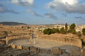 the forum roman city jerash