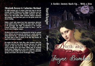 Book cover full wrap: Northfanger by Jayne Bamber