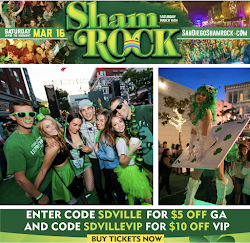 Save on passes & Enter to win VIP tickets to ShamRock St. Patrick's Day Party - March 16!