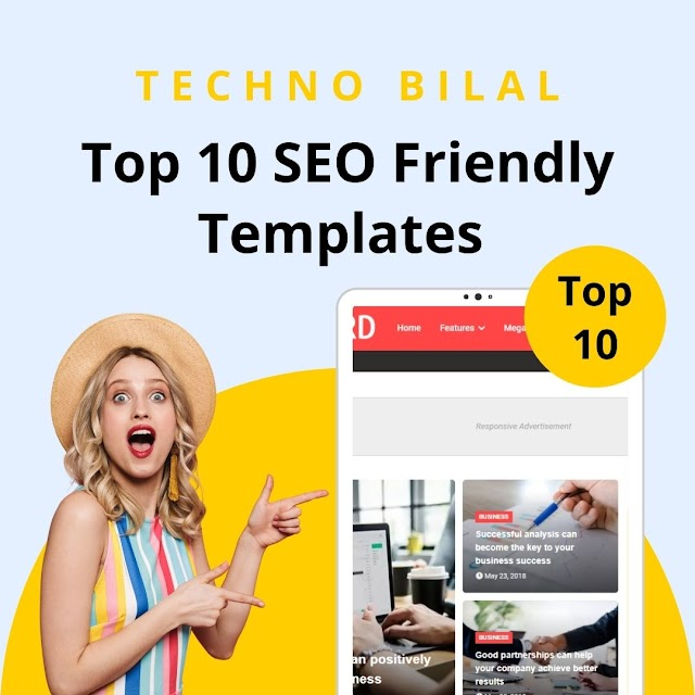 Top 10 SEO Friendly Free Blogger Templates | Google AdSense Friendly