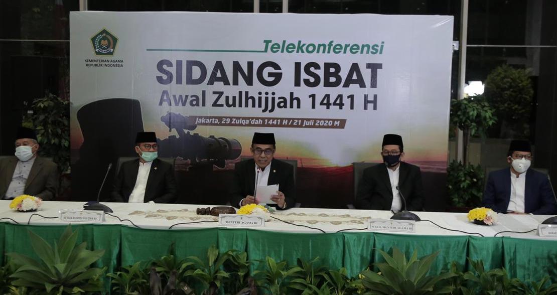 Pemerintah Tetapkan Hari Raya Idul Adha 1441 Hijriah