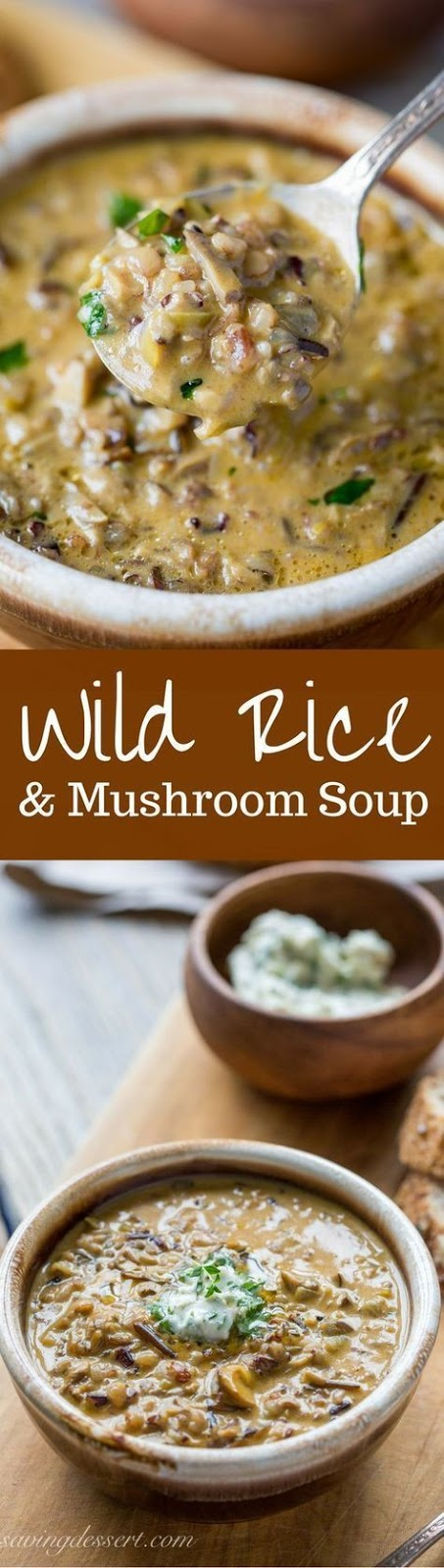 The Best Wild Rice & Mushroom Soup