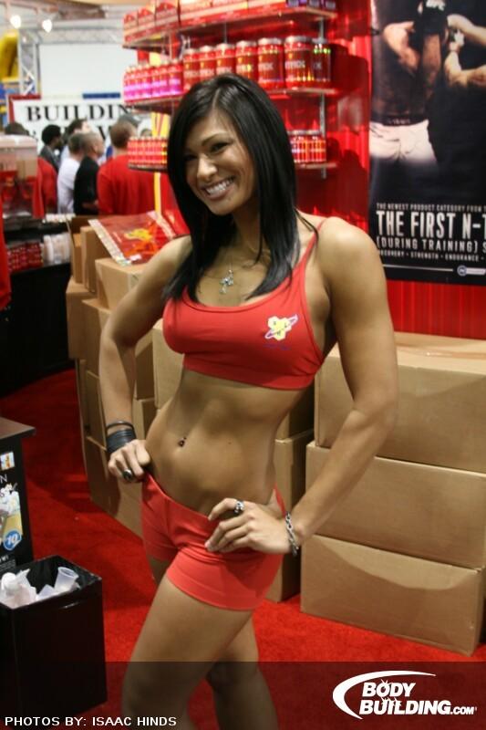 Naked fitness babe