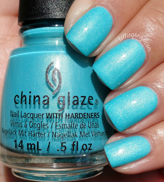 China Glaze What I Like About Blue