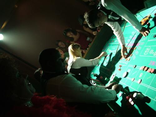 #PraCegoVer: Mesa de jogo.