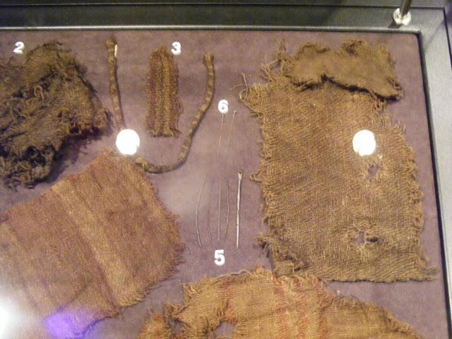 Tekstylia wczesnośredniowieczne z Opola - zdjęcie Mścidruga