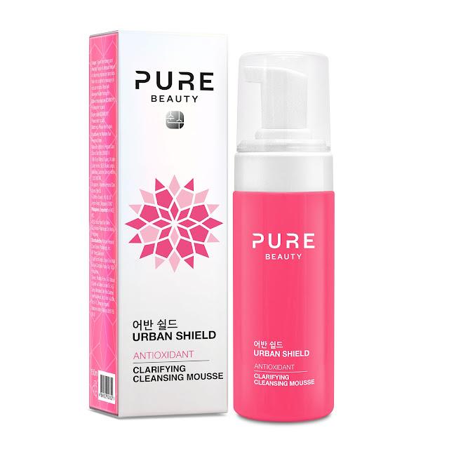 Watsons Pure Beauty Urban Shield Antioxidant Clarifying Cleansing Mousse Yüz Temizleme Köpüğü