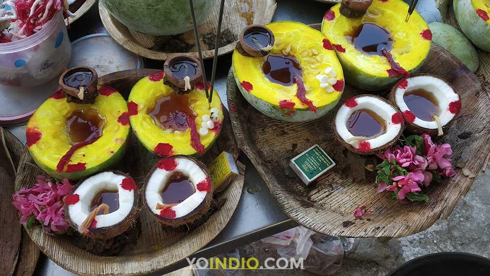 Pumpkin Deepam Kalabairavar