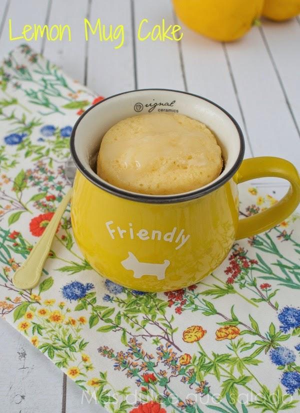 Más Dulce Que Salado Mug Cake De Limón