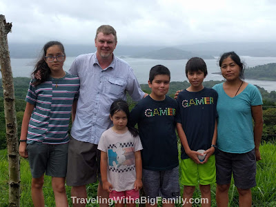 Traveling with children from Samara Beach to Arenal and La Fortuna, Costa Rica