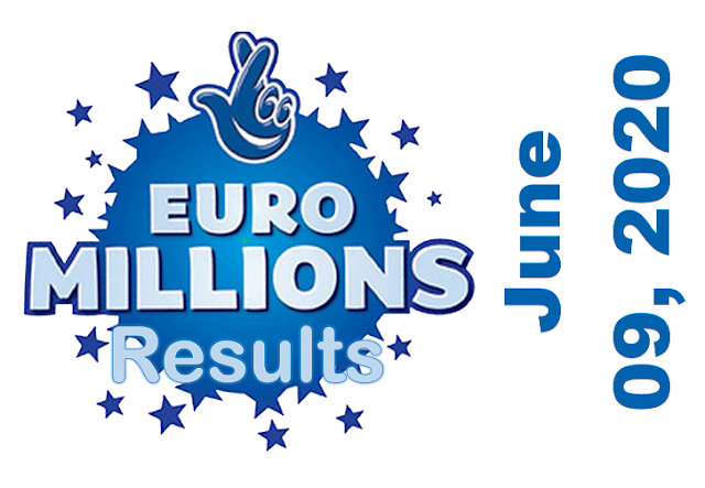 EuroMillions Results for Tuesday, June 09, 2020