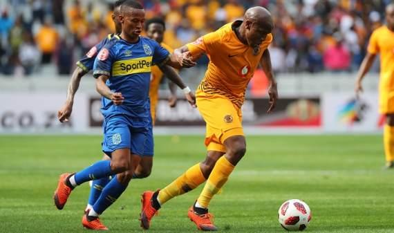 Kaizer Chiefs striker Lebogang Manyama