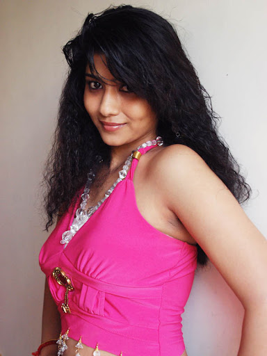 Naughty poses Liya sree in pink dress spicy photos